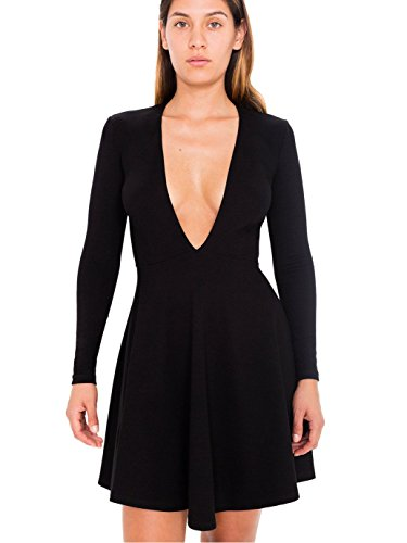 Deep V Dress - Stylish Picks